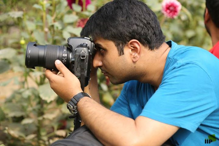 clicking great photos and embark on a creative journey with IIP