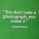 Sayings from great Photographers